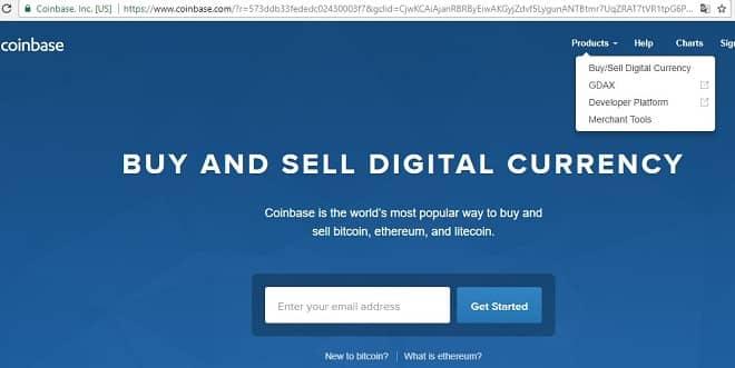 онлайн кошелек Coinbase.com