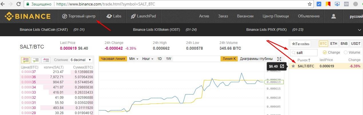 купить криптовалюту salt